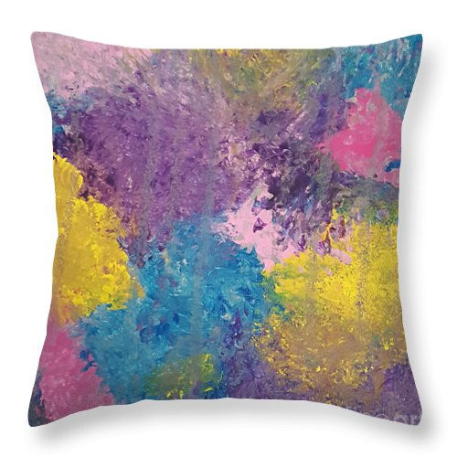 Throw Pillow - Colorburst