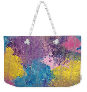 Weekender Tote Bag - Colorburst