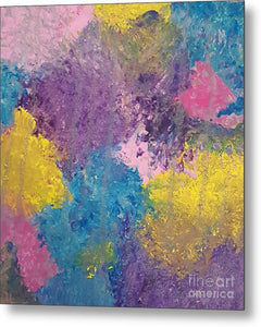Metal Print - Colorburst