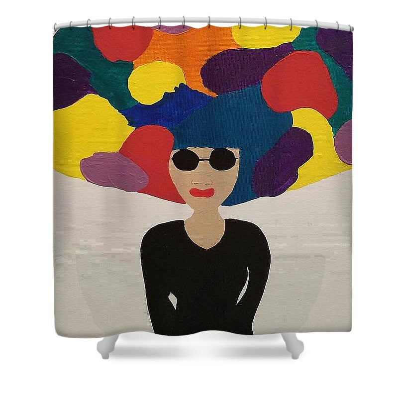 Shower Curtain - Colorfro