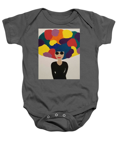 Color Fro - Baby Onesie