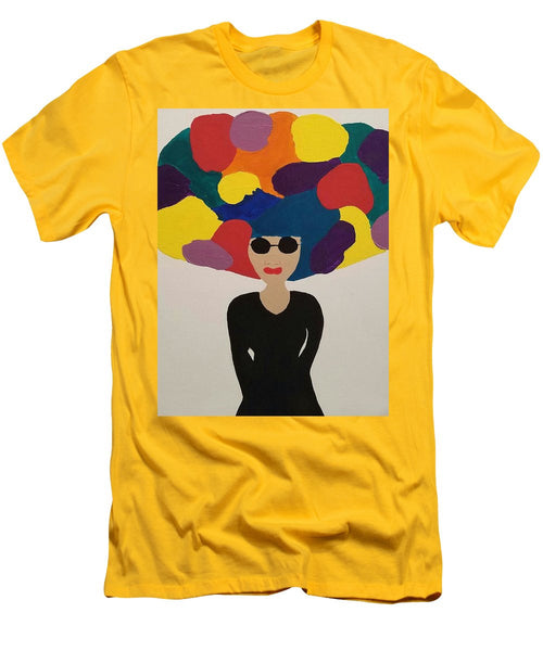 Color Fro - Men's T-Shirt (Slim Fit)