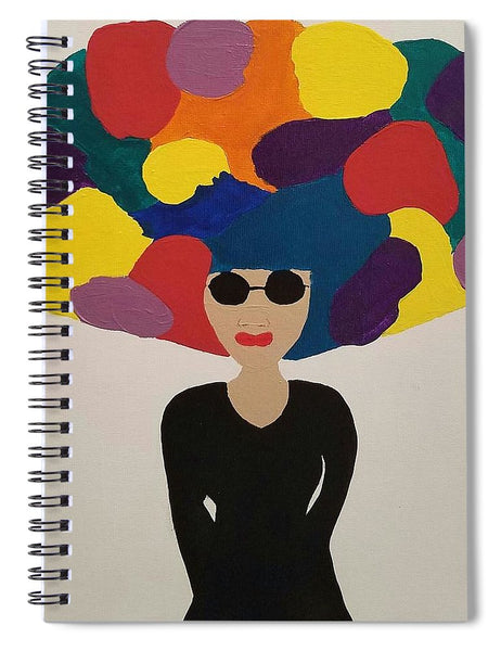Color Fro - Spiral Notebook
