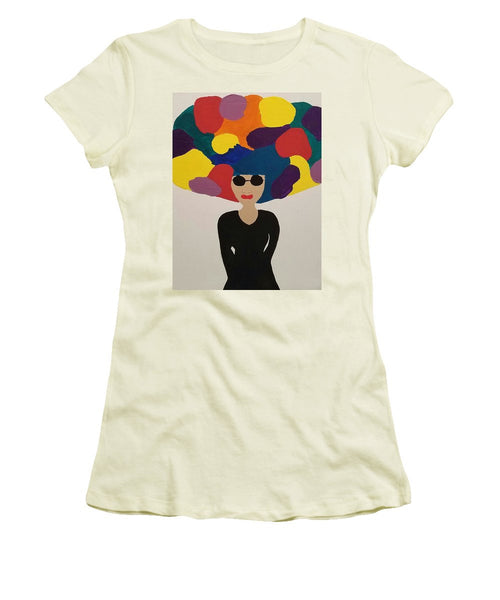 Color Fro - Women's T-Shirt (Junior Cut)