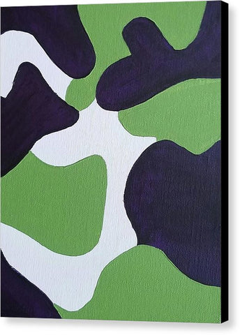 Canvas Print - Abstract Camo