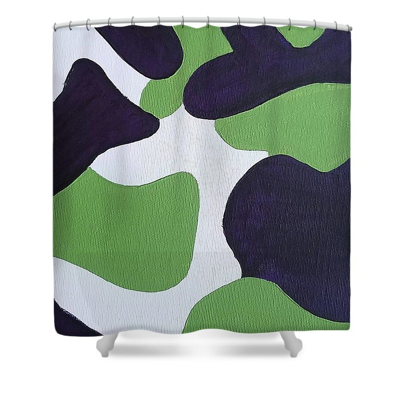 Shower Curtain - Abstract Camo