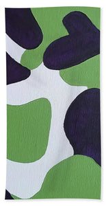 Abstract Camo - Bath Towel