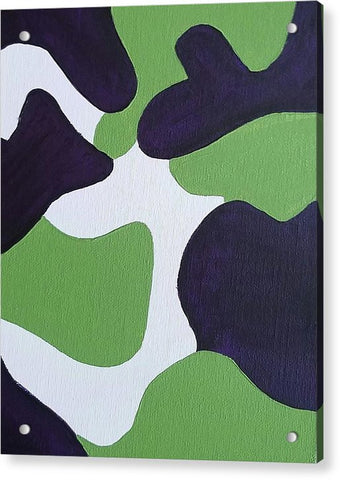 Acrylic Print - Abstract Camo