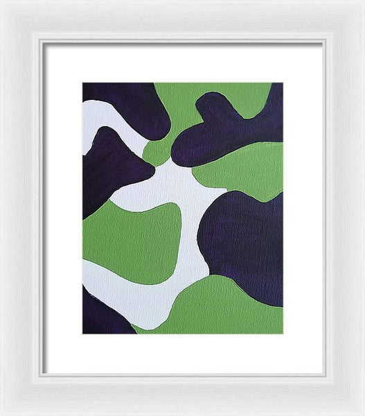 Framed Print - Abstract Camo