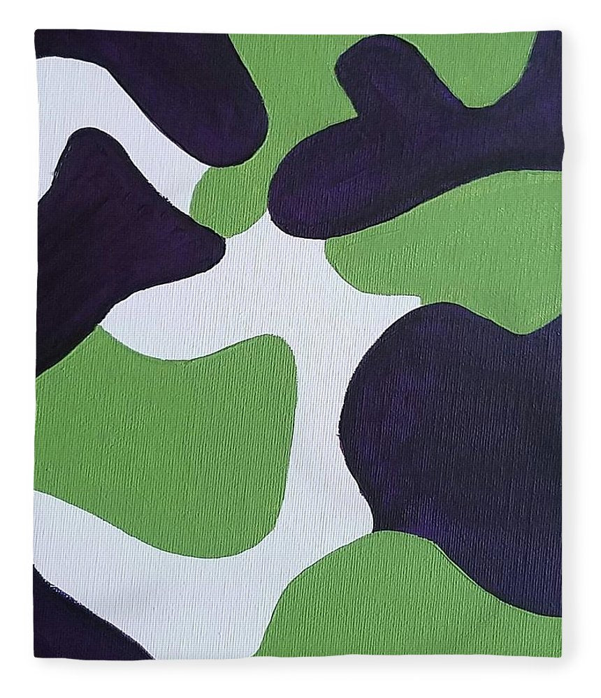 Abstract Camo - Blanket