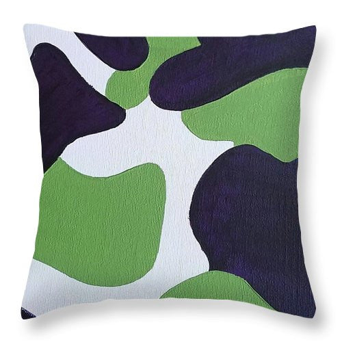 Throw Pillow - Abstract Camo