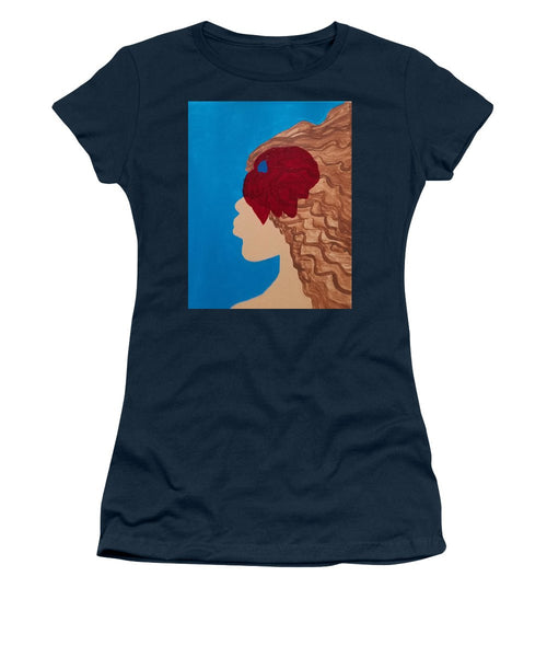 Como La Flor - Women's T-Shirt (Junior Cut)