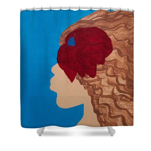 Como La Flor - Shower Curtain