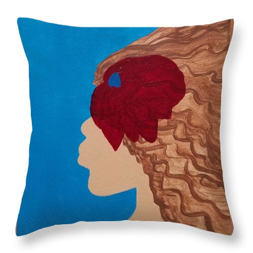 Como La Flor - Throw Pillow