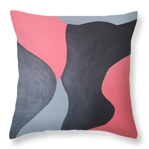 Coral Love - Throw Pillow