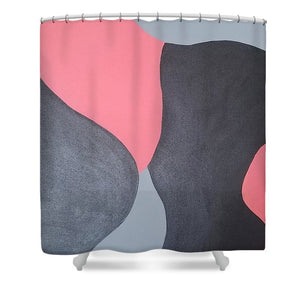 Coral Love - Shower Curtain