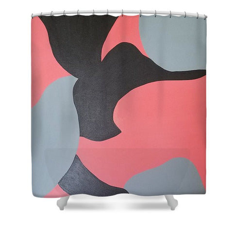 Coral Love II - Shower Curtain