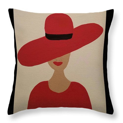 Throw Pillow - Diva