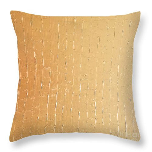 Throw Pillow - Dragons Egg- Gold