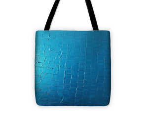 Tote Bag - Dragons Egg- Metallic Blue