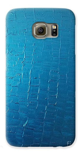 Phone Case - Dragons Egg- Metallic Blue