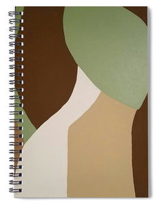 Flow II - Spiral Notebook