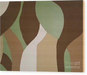 Wood Print - Flow II