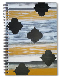 Golden Splendor - Spiral Notebook
