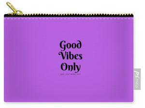 Good Vibes Only - Carry-All Pouch