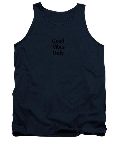 Good Vibes Only- Pink - Tank Top