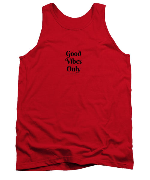 Good Vibes Only- Purple - Tank Top