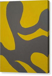 Grey Area - Canvas Print