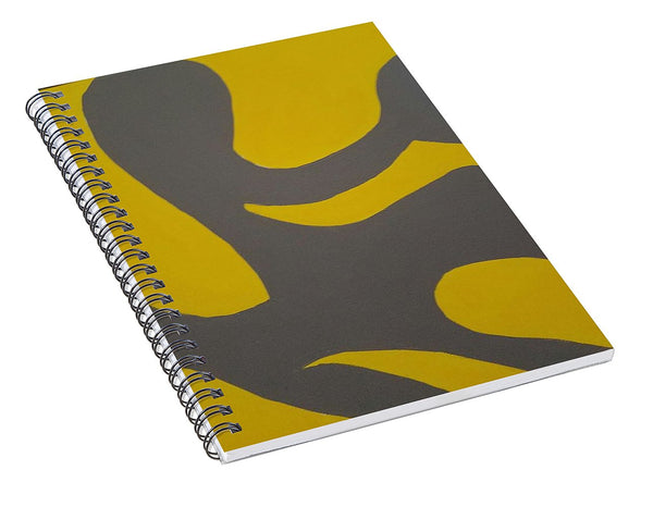 Grey Area - Spiral Notebook