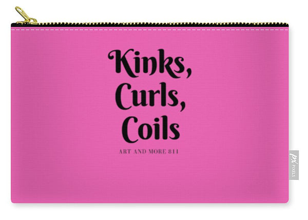 Kinks,curls,coils - Carry-All Pouch