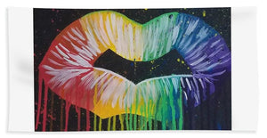 Kiss Me - Beach Towel