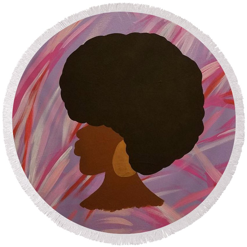 Leela - Round Beach Towel