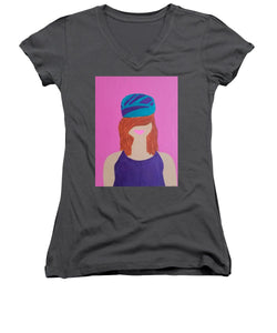 Lena - Women's V-Neck T-Shirt (Junior Cut)