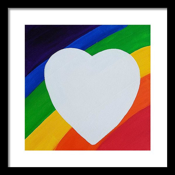 Love - Framed Print