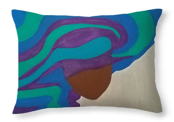 Mane Attraction - Throw Pillow