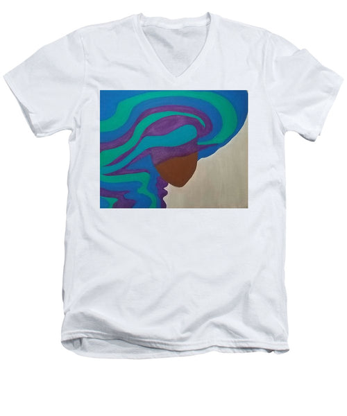 Mane Attraction - Men's V-Neck T-Shirt