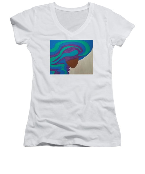Mane Attraction - Women's V-Neck T-Shirt (Junior Cut)