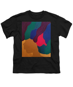 Mardi Gras Afro - Youth T-Shirt