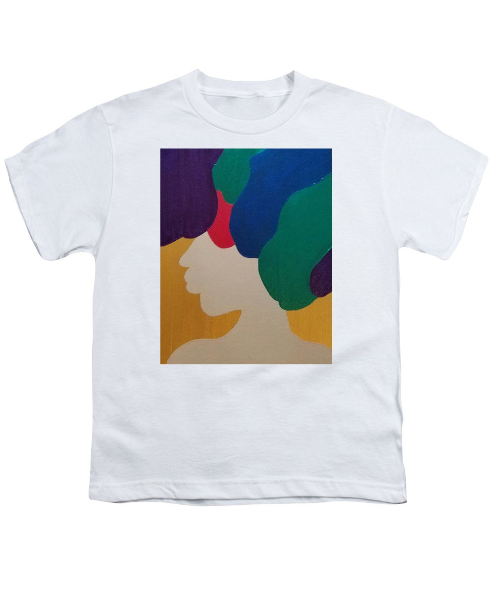 Mardi Gras Afro II - Youth T-Shirt