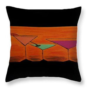 Martini - Throw Pillow