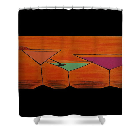 Martini - Shower Curtain