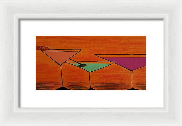 Martini - Framed Print