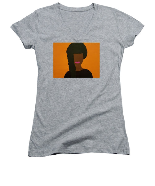 Maya - Women's V-Neck T-Shirt