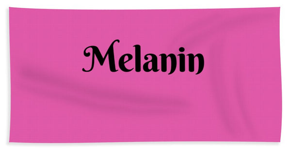 Melanin - Beach Towel