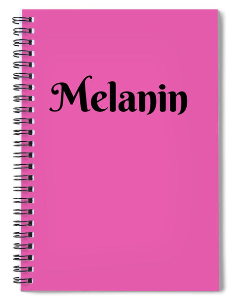 Melanin - Spiral Notebook