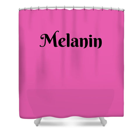 Melanin - Shower Curtain